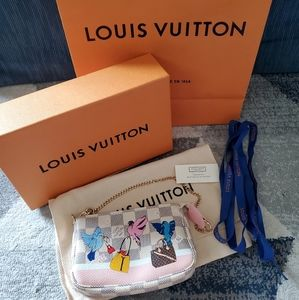Louis Vuitton Limited Edition Mini Pochette